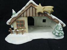 Goebel Nina & Marco Keramik Krippe Stall der heiligen Familie Weihnachten