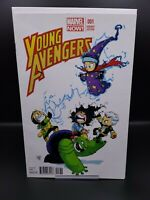 Young Avengers #1 Skottie Young Variant Cover VF/NM America Chavez Wiccan Speed