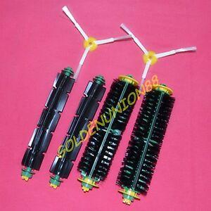 6pc flexible Beater Bristle Brush 3 arm side brush for iRobot Roomba 500 series