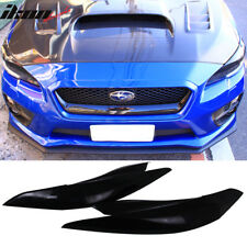 For 15-18 Subaru WRX STI Impreza IKON Unpainted Headlight Eyelid Eyebrow Cover