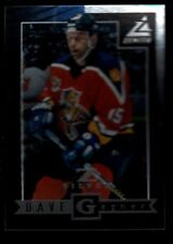 DAVE GAGNER PANTHERS #75 Z-SILVER INSERT CARD RARE 97-98 1997-98 PINNACLE ZENITH