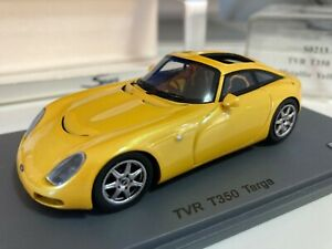 1/43 TVR T350C Targa Metallic Yellow Spark Model S0213