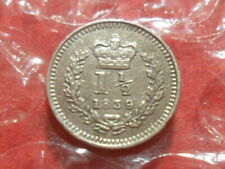 More details for 1839 victoria three-halfpence.