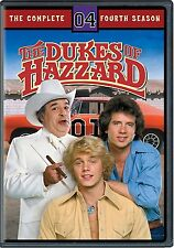 Dukes of Hazzard The Complete Season 4 Fourth 4th Movies DISC DVD - NEW SEALED