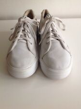 Keds With Stretch White Canvas Pumps Size 7 Lace Up