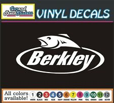 BERKLEY Fishing Tackle lures boat Vinyl Car Decal window sticker