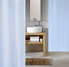 Kleine Wolke Sanna Azur Blau Duschvorhang 120 x 200 cm. Hochwertige Textil