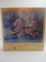 SunsOut Welcome Home Jigsaw Puzzle 1000+ Easy Grasp Pieces Nicky Boehme NEW