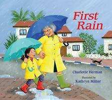 NEW First Rain by Charlotte Herman Hardcover Book (English)