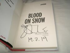 JO NESBO - Blood On Snow SIGNED 1/1 Hb - 2015 - THRILLER - BLOOD ON SNOW book 1