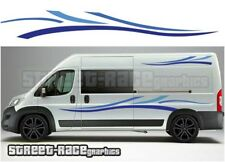 Motorhome Campervan 015 graphics stickers decal Fiat Ducato Citroen Relay Boxer