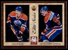 2011-12 PANINI ELITE SERIES TAYLOR HALL RYAN NUGENT-HOPKINS EDMONTON OILERS #1
