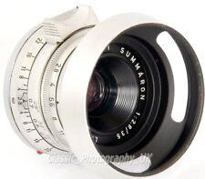 39mm Lens Hood + Cap for LEICA Summicron 2/50 E39 ELMAR 1:2.8 f=5cm SUMMARON 3.5