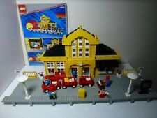 LEGO 9v Trains Metro Station (4554) with original instructions