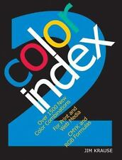 Color Index 2 Reference Colour BOOK 1500+ Combinations For Print and Web Media