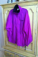 Vtg Violet Purple Reebok Anorak Shell Jacket  XL