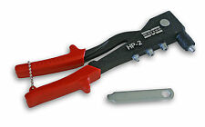 Marson 39000 Klik-Fast Hand Riveter -Rivet Gun for 3/32 1/8 5/32 3/16 rivets HP2