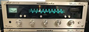 Marantz Model 2215B Reciever TESTED 100% ALL POTS DEOXIT LUBRICATED AND CLEANED