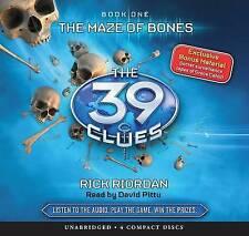 NEW The Maze of Bones (The 39 Clues, Book 1) - Audio by Rick Riordan