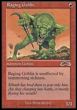 *MRM* FR 4x Gobelin enragé (Raging Goblin) MTG Exodus