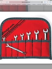 Snap-On 7 Pc 6-Point Midget Metric Combo Wrench Set OXIM707SBK NEW SHIPS FREE