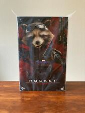 """Hot Toys Marvel's Avengers Endgame """"Rocket"""" Collectible Figure; Sixth Scale"""
