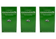 Starbucks Sumatra Coconut Milk 64 Fl Oz Each 3-Pack BBD 12/15/20