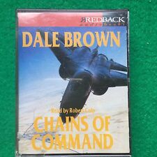 Chains Of Command by Dale Brown  ( 4 Audiobook Cassette)