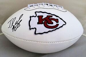 Jamaal Charles Signed Kansas City Chiefs Logo Football JSA
