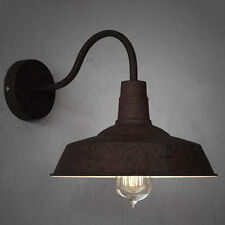 Rustic Industrial Retro Style Barn Wall Lamp Sconce Outdoors Wall Light  Fixture