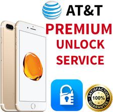 PREMIUM FACTORY UNLOCK SERVICE AT&T APPLE IPHONE 7 SE 6S 6 5S 5C 5 ATT 100% ALL