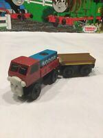 LORRY 1 TRUCK & FLATBED CARGO~Thomas Wooden Railway  2002 Train Set Car Lot