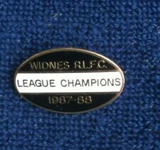 Rugby league badge Widnes league champions