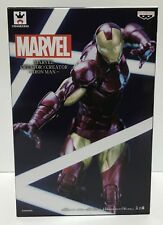 Marvel Iron Man figure Creator x Creator Banpresto JAPAN Authentic NEW Ironman