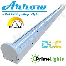 LED Utility Shop Light 4' Ft 40-Watts Instant-On 5,500 Lumens NEW Garage Durable