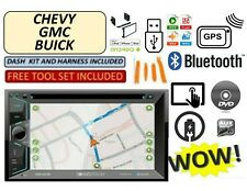 FITS CHEVY-GMC TRUCK-VAN-SUV Dvd AUX Bluetooth Radio Stereo GPS TOUCHSCREEN