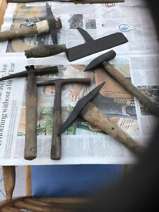 Vintage Roofers Hammers - Roofers and Claw - Slate Etc