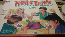 Hands Down board game 1987 Milton Bradley version
