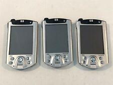 3 Hp iPaq h5550 Pocket Pc - Pda - Parts Only - No Battery