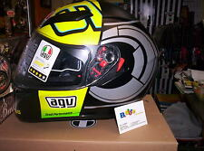 CASCO AGV INTEGRALE K3 SV REPLICA VALENTINO ROSSI WINTER TEST MS + PINLOCK