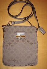 Coach Kristin Signature Graphic Op Art Swingpack Crossbody Bag Handbag 43642