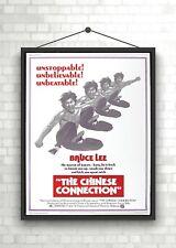 Bruce Lee chino conexión Vintage Grande Película Poster Print A0 A1 A2 A3 A4