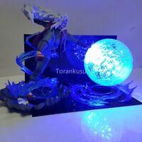 Anime Jiraiya Rasengan Fight Figure Collection LED Table Lamp Xmas Gift Toy New