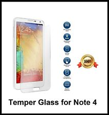 SAMSUNG GALAXY NOTE 4 Genuine temper glass anti shutter screen protector