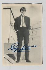 29925 Sammel Bild mit gedrucktem Autogramm Ringo Star um 1964 card The Beatles