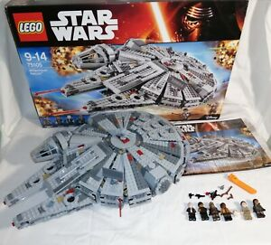 Lego 75105 Star Wars Millenium Falcon (needs 1 small tan brick and stickers)