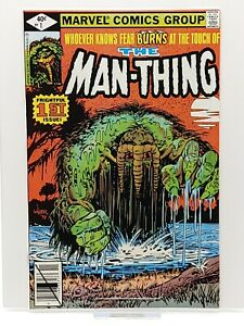 Man Thing #1 HIGH GRADE UNREAD WAREHOUSE LOT FIND CGC worthy 9.4+