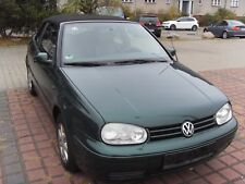 Volkswagen Golf Cabrio 2.0 Benzin