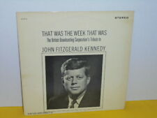 LP - THE BRITISH BROADCASTING CORPORATION'S TRIBUTE TO JOHN FITZGERALD KENNEDY