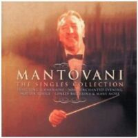 MANTOVANI - THE SINGLES COLLECTION CD ~ BEST OF / GREATEST HITS ~ORCHESTRA *NEW*